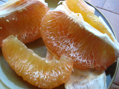 pomelo wedges