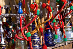 A Line of Israeli Hookahs... by Vampire Black Cat