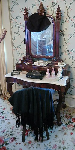 Chatillon - DeMenil House, in Saint Louis, Missouri, USA -  vanity table