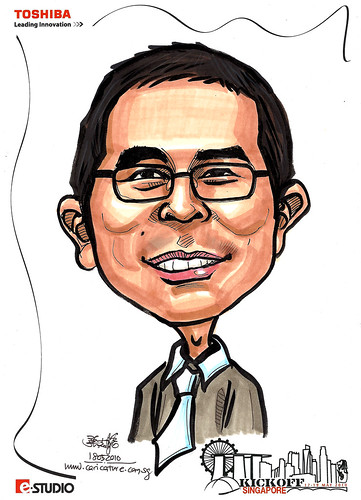 Caricature of Chow
