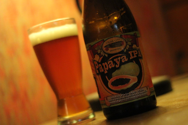 5701977368 f39d8cfe1d z Notes   Cigar City Jai Alai Papaya IPA