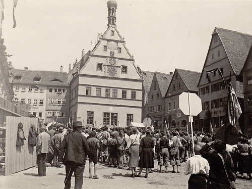 Rothenburg, Germany. 1930s.