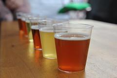 Smaksprøver på øl av alle slag