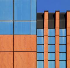 like the solution of a jigsaw puzzle (montel7) Tags: blue squares rectangles orangered quadrati rettangoli creattività superstarthebest porteuropa