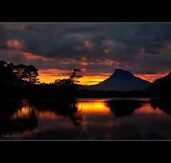 Volcanic Eruption (Billy Currie) Tags: mountain reflection volcano scotland ross highlands moody stac pollaidh og western loch sutherland volcanic eruption ullapool wester inverpolly