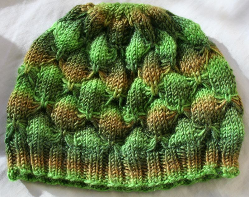 FO – Butterfly Hat – Vickilicious Knits