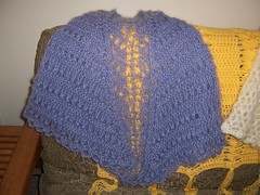 Lavender Mist Shawl (katalina_knits) Tags: knit badge shawl finishedobject