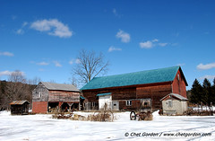 Ulster County, NY Barn. Feb. 2008.