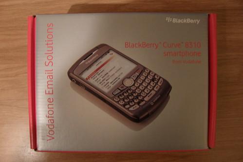 Blackberry Curve 8310 Caja