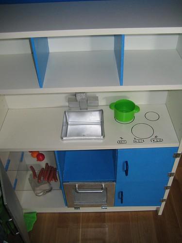A cociña pequena