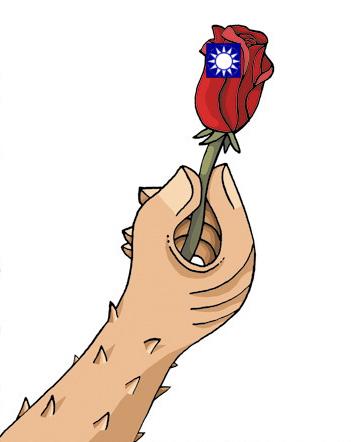 國民黨帶刺的玫瑰花