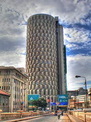 Karachi -- Habib Bank Plaza (Aliraza Khatri) Tags: travel pakistan sky building tower architecture hub clouds commerce skyscrapers shaped places images east trading getty middle mcb karachi sindh highest tallbuilding tallestbuilding capsules iichundrigarroad khatri hbl habibbankplaza biggestcity aliraza bankalhabib alirazakhatri pakistanarchitecture tradehub gettyimagespakistanq12012 gettyimagesmiddleeast