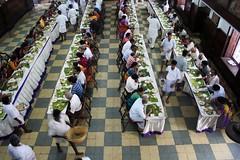 Wedding Feast (swamysk) Tags: wedding food india leaves dinner lunch traditional madras marriage banana reception chennai tamil tamilnadu southindia swamysk