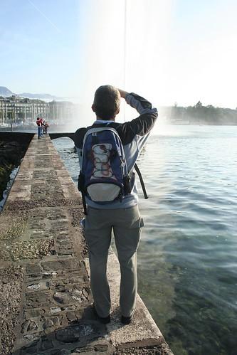 genève - on photographie le lac