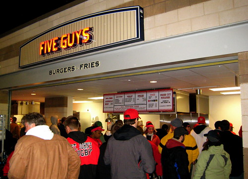 Five Guys - Nationals Park