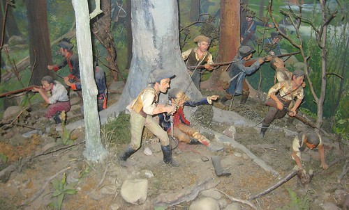 Diorama of Oriskany