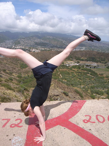 handstand 730 ft in the air