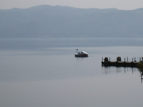 天鵝船連續圖之8-誰在湖上飄