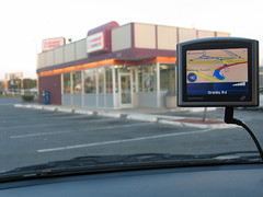 Dunkin' Donuts on TomTom GPSr