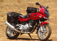 My Red Beauty (SandeepRathod) Tags: camping camp india honda way tank ride weekend sony side ds bikes 200 bombay bullet express bags mahabaleshwar panchgani mumbai eco pulsar ch9 pune touring bikers 220 banglore karizma avenger nh4 nh17 c400 cramster bombaybikers univorn