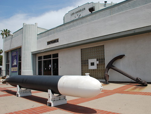WWII Torpedo at the L.A. Maritime Museum