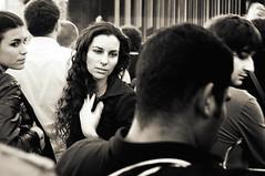 RaDiOhEaD :: Rock'n Roll is Redemption. ([ piXo ]) Tags: woman milan hair concert milano concerto arena radiohead civica arenacivica lastfm:event=431484