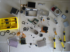 autopsy (Divine Harvester) Tags: camera canon parts sd600