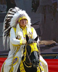 Chief (njchow82) Tags: canada calgary festival chief parade alberta aboriginal calgarystampede firstnationspeople inspiredbylove exclusivity ropesquare albertacaptured njchow82