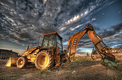 Deere (iceman9294) Tags: tractor construction shovel loader backhoe hdr deere digger photomatix