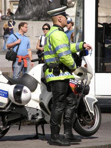 Metropolitan Police Motorcyclist