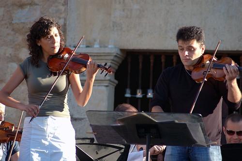Ensayo Orquesta de Cámara del Covent Garden de Londres