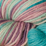 Willow on Spirit Organic Merino (6oz plus 2.5oz Aqua trim)