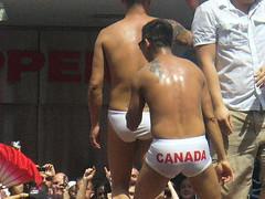 Canada (Stpe1981) Tags: gay asian underwear pride twink parade undies torontopride flaot