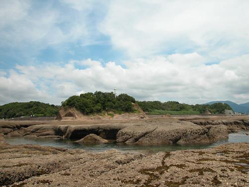 天神崎擁有豐富的海洋資源與海岸地景