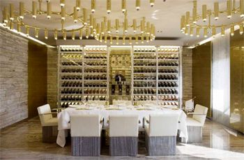 dolce gabbana gold restaurant