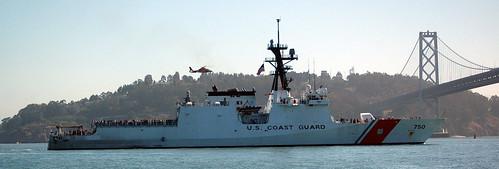 USCGC Bertholf arrives in San Francisco Bay