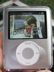 iPod mit W-Team