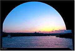 Sunset at Galata Bridge, Istanbul...