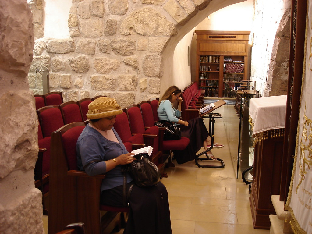 Synagogue in the Western Wall tunnels
