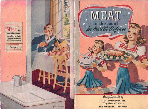 Meat in the Meal for Health Defense, 1942
