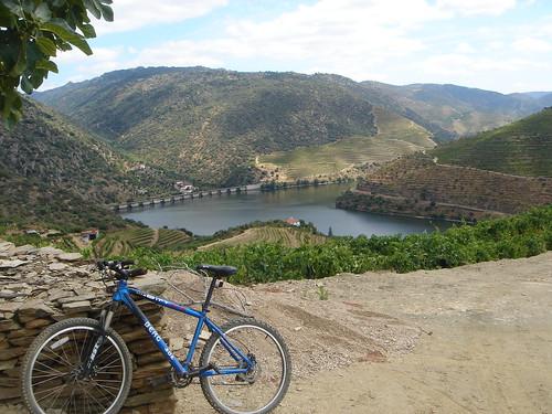 The Douro river from Quinta Vale D'Agodinho