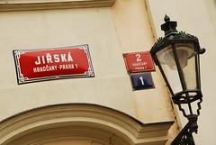 Street to Lobkowicz Palace
