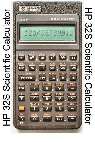 HP 32S Scientific Calculator