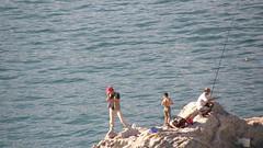 50.磯釣的遊客