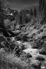 Rosenlaui Canyon (Monika Ostermann) Tags: bw water river ir switzerland blackwhite canyon infrared blackdiamond rosenlaui supershot flickersbest overtheexcellence bwartaward