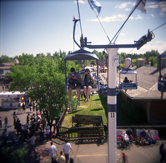 tourists (The 10 cent designer) Tags: film matt holga calgarystampede jrdis