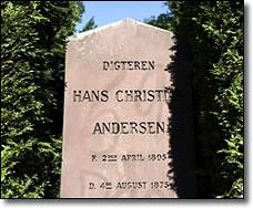 Graf van H. C. Andersen geschonden