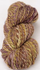 Purple/Green skein 1