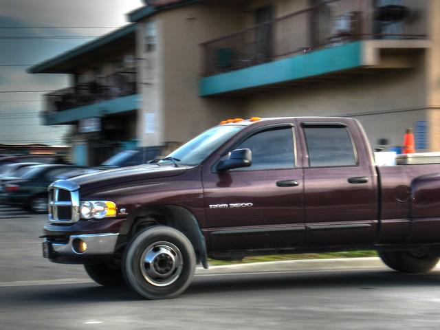 door blur car truck hotel apartment pickup 150 350 dodge ram 2008 dakota 2009 hdr hdri 2007 3500