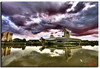 War Museum Salford (Muzammil (Moz)) Tags: uk landscape manchester photography salford moz imperialwarmuseum salfordqueys conon400d afraaz muzammilhussain